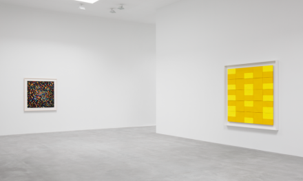 Ellsworth Kelly, Color Panels for a Large Wall (Installation View), via Matthew Marks