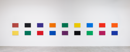 Ellsworth Kelly, Color Panels for a Large Wall II (1978), via Matthew Marks