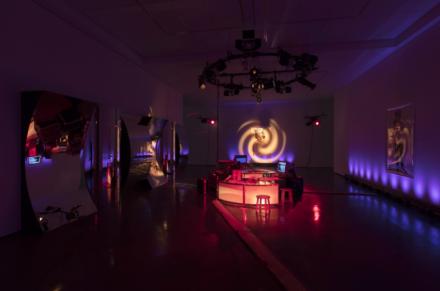 Julia Scher, Wonderland (Installation View), via Esther Schipper