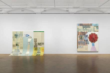 Robert Rauschenberg, Spreads 1975-1983 (Installation View), via Ropac