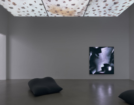 Seth Price, Hell Has Everything (Installation View), via Petzel