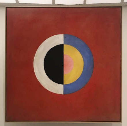 Hilma af Klint, Paintings for the Future (Installation View), via Art Observed