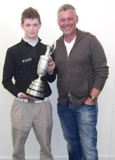Me with British Open winner Darren Clarke