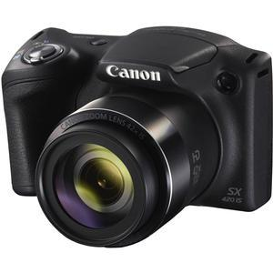 canon powershot sx420 is wi fi digital camera (black)