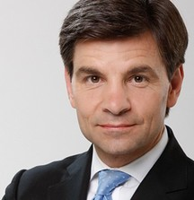 Meet George Stephanopoulos on the Set of Good Morning America in New York