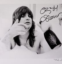 Ozzy Osbourne - 1981, Limited Edition Photograph Signed by Rock & Roll Photographer Mark Weiss and Ozzy Osbourne