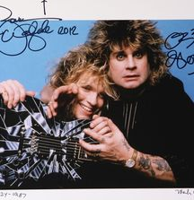 Zakk Wylde & Ozzy Osbourne - 1987, Limited Edition Photograph Signed by Rock & Roll Photographer Mark Weiss, Zakk Wylde & Ozzy Osbourne