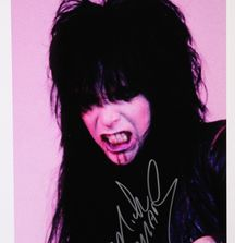 Mick Mars of Mötley Crüe - 1982, Limited Edition Photograph Signed by Rock & Roll Photographer Mark Weiss and Mick Mars