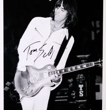 Tom Sholz of Boston - 1978, Limited Edition Photograph Signed by Rock & Roll Photographer Mark Weiss and Tom Sholz