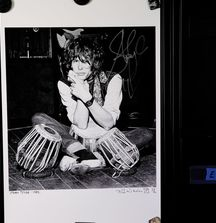 Steven Tyler of Aerosmith - 1976, Limited Edition Photograph Signed by Rock & Roll Photographer Mark Weiss and Steven Tyler