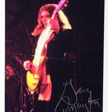 Gary Rossington - 1980, Limited Edition Photograph Signed by Rock & Roll Photographer Mark Weiss and Gary Rossington