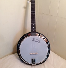 Steve Martin Signed Deering Good Time Midnight Special Banjo Plus an Embroidered Gig Bag!