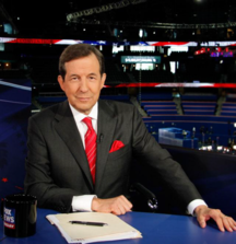 Meet News Anchor Chris Wallace on the Set of Fox News Sunday in Washington, D.C.
