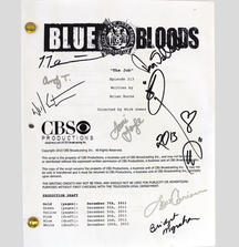 Take Home a Blue Bloods Script Signed by the Members of the Cast