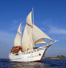 Explore Komodo And Other Indonesian Islands Above And Below the Water Line With 1 Spot on the Pindito Liveaboard Scuba Vessel