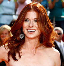 Meet Debra Messing Backstage at Outside Mullingar on Broadway
