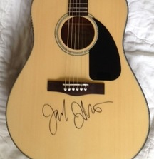 Jack Johnson Signed Fender Acoustic Guitar