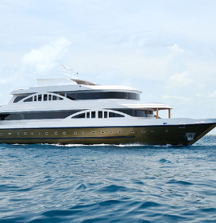 Indulge yourself for 7 Days aboard the  M/V Orion on a SCUBA Adventure for 2 in The Maldives