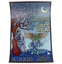 2013 Gathering of the Vibes Festival Poster Signed by Grace Potter