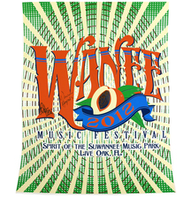 2012 Wanee Festival Poster Signed by Bob Weir and Warren Haynes