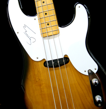 Fender Precision Bass Guitar Signed by Sting