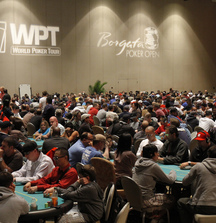 Entry in the WPT Borgata Winter Poker Open and Announce Shuffle Up and Deal on Camera with the WPT Cast