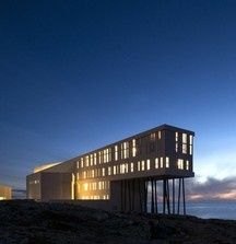 2 Night Stay for 2 in an Ocean Front Suite at the Fogo Island Inn Off the Coast of Newfoundland in Canada