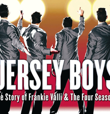 2 Producer's House Seats to JERSEY BOYS, Backstage Tour from Drew Gehling (Bob Guadio) & Signed Poster