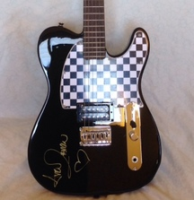 Avril Lavigne Signed Signature Telecaster Guitar