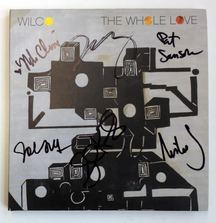 The Whole Love CD Signed by All of Wilco