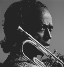 Miles Davis by Aaron Rapoport, 1983