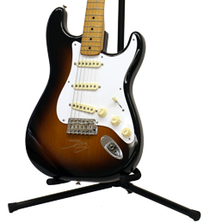 Fender Stratocaster Signed by Dan Auerbach and Patrick Carney of The Black Keys