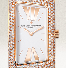 18k Gold Vacheron Constantin Watch with 1.3 Carats of Diamonds