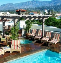 Enjoy a 2 Night Stay in a King Deluxe Room at the Canary Hotel in Santa Barbara