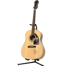 Crystal Bowersox Signed Epiphone Solid Top Acoustic Guitar