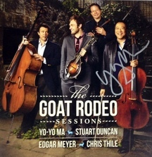 The Goat Rodeo Sessions CD Signed by Yo-Yo Ma Himself!