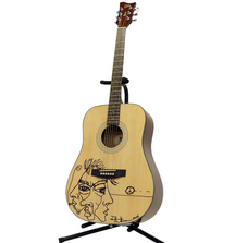 Take Home an ESP Xtone D-5 Acoustic Guitar Signed by Dave Matthews