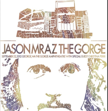 Receive a Limited Edition Concert Poster by TEKSTartist, Signed by Jason Mraz