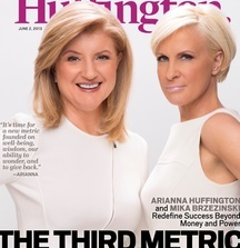 Meet Arianna Huffington and Be Part of Her Inner Circle with 2 Tickets to her Third Metric Conference in NY, LA or DC