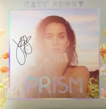 Take Home a Prism Vinyl Signed by Katy Perry