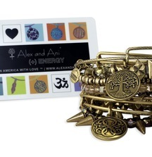Shop Til You Drop with a $250 Gift Card to Alex and Ani & Accessorize with a Set of Bangles