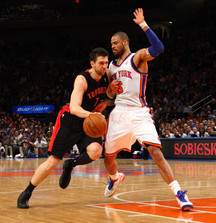 4 Prime Tickets to April 16 Knicks vs Raptors Game in NYC