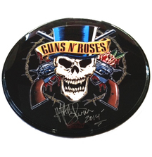 Take Home a Tour-Used Guns N' Roses Drumhead Signed by Drummer Matt Sorum