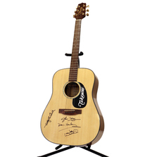 Signed Takamine G Series Acoustic Guitar from the Eagles