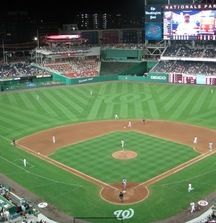 See the Washington Nationals with Lexus Presidents Club Tix, Batting Practice Access, Scoreboard Welcome and Much More