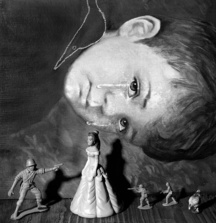 Crying Boy, Limited Edition Signed Print by Roger Ballen