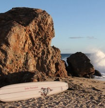 Custom 9-Foot Surfboard Designed for John Varvatos by Malibu Surfboards
