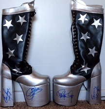 Own a Pair of Starchild Boots Signed by KISS!