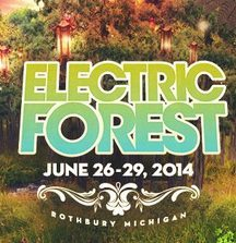 2 Good Life Tickets to Electric Forest in Michigan on June 26-29 Plus a Golf Cart Ride with Michael Kang of String Cheese Incident