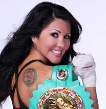 Boxing Training Session with WBC World Champion and Playboy Cover Model Mia St. John